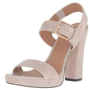 Calvin Klein Bette Clay Platform-NEW